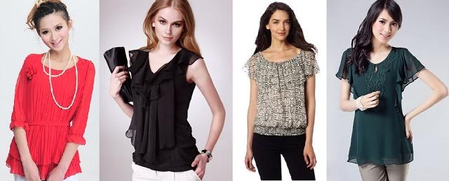 Современные модные блузы