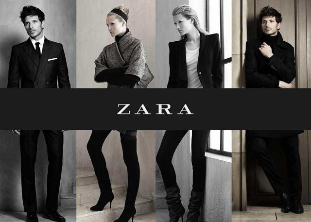 Испанский бренд ZARA известен в мире